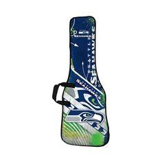 Woodrow - Seattle Seahawks Bag for Most Guitars - White/Green/Blue, GBNFL29