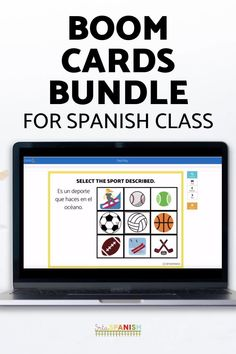 Boom Cards have a TON of options for practicing language, vocabulary, and grammar. These digital, interactive task cards give you all sorts of options to practice, review, and give your students more comprehensible input in an engaging way! Spanish Boom Cards are a great, low prep option for a digital assignment during virtual learning, hybrid, or face to face! Grab this bundle of Boom Cards in Spanish for easy to use digital assignments for your middle school and high school Spanish… Spanish Lesson Plans, Spanish Lessons, Comprehensible Input, Middle School Spanish, Spanish 1, Spanish Classroom, Class Activities, Task Cards, Grammar