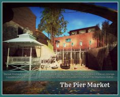welcome shot of The Pier Market Explore, London, Marketing, Mansions, House Styles, Poster, Mansion Houses, Manor Houses, Fancy Houses