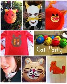 Miss K decided on a Cat Theme for her birthday. I wasn't sure if she was a little too old for this, but she insisted. I thought it was swe...