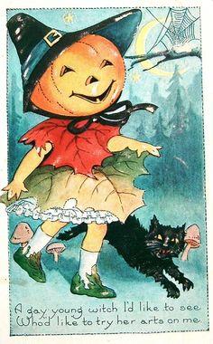 postcardiva postcard blog: FELINE Fantasies - CAT and KITTEN Postcards