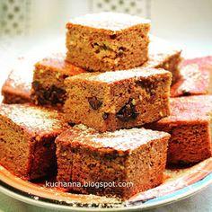 Ciasto marchewkowe (bez glutenu, bez cukru)