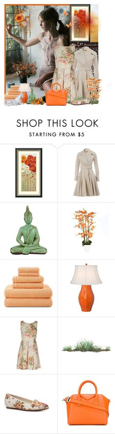 """""""Untitled #2064"""" by tina-teena ❤ liked on Polyvore featuring Amanti Art, Alaïa, JCPenney Home, Emissary, Bass and Givenchy"""