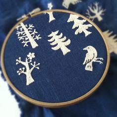 新作をチラリ(^^)#刺繍#embroidery