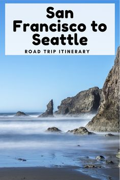 San Francisco to Seattle Road Trip #sanfrancisco #seattle #pacificnorthwest #pacificcoast #roadtrip #couplestrip #usatravel Road Trip Packing, Us Road Trip, Road Trip Essentials, Canada Travel, Travel Usa, Travel Tips, Travel Couple, Family Travel, Seattle To San Francisco