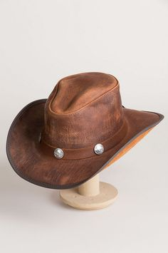 51bc1b9e2 70 Best Leather Cowboy Hats images in 2014 | Leather cowboy hats ...