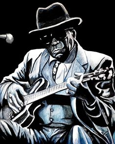John Lee Hooker.