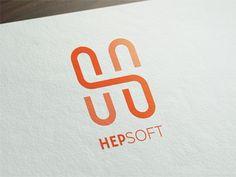 HS Monogram designed by Mridul Kumar. Hs Logo, Typo Logo, Typographic Logo, Font Logo, Initial Logo, Monogram Logo, Letter Logo, Cool Lettering, Types Of Lettering