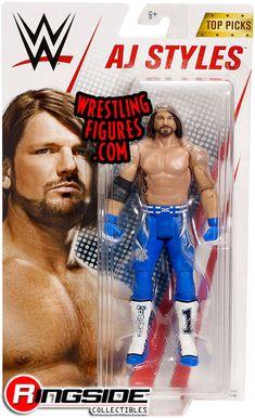 "WWE Mattel BASIC 6/"" Wrestling Action Figures Multi-Series *BRAND NEW SEALED* MOC"