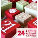 Our 2012 Advent Activity List
