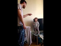 This epic standoff between daddy and daughter is one for the ages | Rare