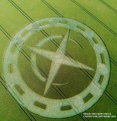 Crop Circle at Winterbourne Stoke Down, Nr Stonehenge, Wiltshire. Reported 10th July 2015