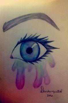 #Watercolour Watercolour, Watercolor Tattoo, My Arts, Tattoos, Pen And Wash, Watercolor Painting, Tatuajes, Tattoo, Japanese Tattoos