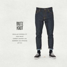 Official Nudie Jeans Online Shop - full collection including Dry Denim and Dry Selvage, tops & accessories. Nudie Jeans is the Naked Truth About Denim.