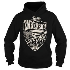 [Love Tshirt name printing] Last Name Surname Tshirts  Team EMBERSON Lifetime Member Eagle  Good Shirt design  EMBERSON Last Name Surname Tshirts. Team EMBERSON Lifetime Member  Tshirt Guys Lady Hodie  SHARE and Get Discount Today Order now before we SELL OUT  Camping kurowski last name surname name surname tshirts team emberson lifetime member eagle