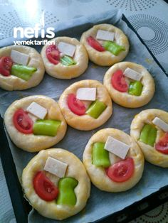 Best Appetizer Recipes, Best Appetizers, Turkish Recipes, Ethnic Recipes, Pizza, Arabic Food, Food Art, Kids Meals, Sushi