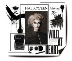 """Boo! Bold Halloween Makeup"" by alevalepra ❤ liked on Polyvore featuring beauty, Christian Louboutin, Lancôme, Mary Kay, Manic Panic and halloweenmakeup"