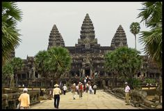 ANGKOR WAT  Siem Reap  Cambodia   Made two visits to this remarkable place