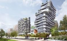 Does this look like #Paris to you? Read about the new #ClichyBatignolles in Paris's northwest...