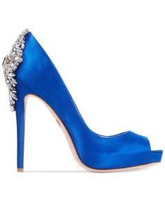 Badgley Mischka Kiara Platform Evening Pumps - Shoes - Macy's