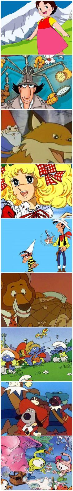 Dibujos animados de los años 80. Qué.es