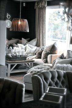 woonkamer landelijk en gezellig