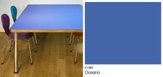 Dining table designed & handmade by @mattantrobus using Formica® Laminate