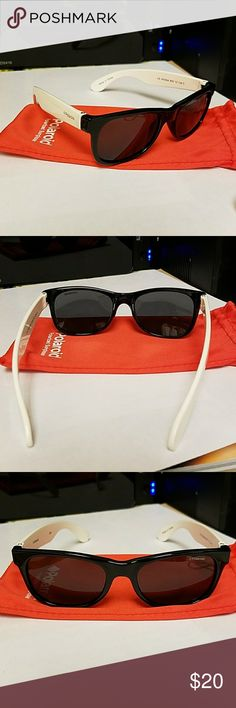 """Polaroid"" polarized grey sunglasses for babies white temples, black front Polaroid Accessories Sunglasses"