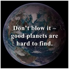 good planets are hard to find . . .