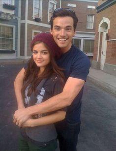 Aria & Ezra, Pretty Little Liars