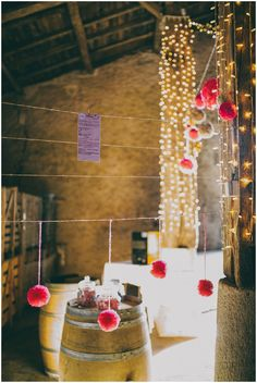 Fairylight decorations | Image Ela & the Poppies photography