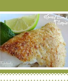 This is a great way to serve tilapia fish fillets: healthy, flavorful, and quick.