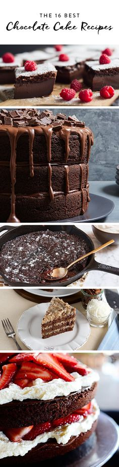 The 16 Best Chocolate Cake Recipes of All Time via @PureWow