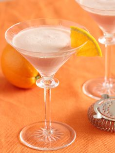 Creamsicle Cocktail - Vodka, Triple Sec, Orange Juice, and Half & Half are combined to create a cocktail that tastes just like the Creamsicles you had as a kid!