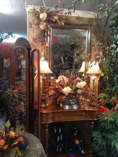 Fall vignette at Ramah's in Olde Town Arvada Co.