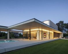 Residência na Bélgica // VDB by Govaert & Vanhoutte Architects.