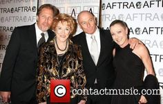 "Picture of Jeanne Cooper, with her children (l-r) Collin Bernsen,(best known for roles in ""General Hospital, and Mr. Destiny) Jeanne Cooper (best known for her role as Katherine Chancellor) in ""The Young and the Restless.""  Her son Corbin Bernsen, an actor/director (best known as a divorce attorney Arnold Becker on series L.A. Law, retired police officer in series Psych, as well as in ""The Major League franchise films. Her daughter, Caren Bernsen, role in the movie; ""The Trip."""