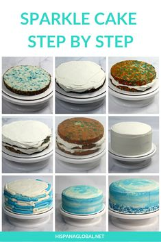 How to make the perfect Sparkle Cake for Frozen fans - Hispana Global Frozen Themed Birthday Cake, Frozen Theme Cake, 2 Birthday Cake, Themed Cakes, Geek Birthday, Turtle Birthday, Turtle Party, Easy Frozen Cake, Frozen 2