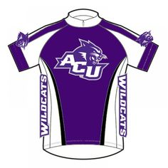 Abilene Christian University ACU Wildcats Cycling Jersey d860459c6