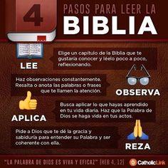 ¿Qué tan seguido lees la #Biblia? Aquí, algunos pasos para comenzar 📖