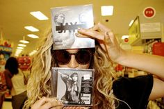 Beyonce Dressed Up As Batman & Bought Jay Z & Kelly Rowland's Albums At Target