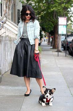 awesome Такие разные черные юбки (50 фото) — С чем носить и как сочетать? Читай больше http://avrorra.com/chernye-yubki-foto/