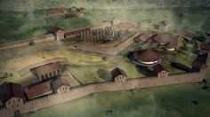 Hypothetical reconstruction of Sarmizegetusa Regia