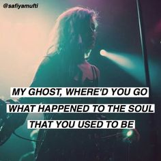 ghost/ halsey  Pinterest: @Cantevensay