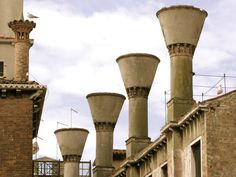 Venetian Chimney Pots.