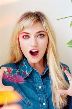 Imogen Poots in That Awkward Moment wallpaper movies and tv Portrait Inspiration, Hair Inspiration, Julia Maddon, Imogen Poots, Baby Bangs, Foto Pose, Portraits, Celebrity Beauty, Belleza Natural