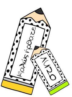 ΞΕΡΩ ΠΑΝΤΑ ΝΑ ΓΕΛΩ - ΟΡΓΑΝΩΣΗ ΤΑΞΗΣ Classroom Organisation, Art Classroom, Organization And Management, Class Decoration, Bulletin Boards, Diy And Crafts, Education, School, Cards