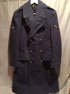 U.S Air Force Early 1951 dated EM Overcoat