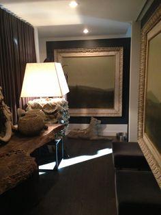 Draped foyer gallery by McAlpine Tankersley
