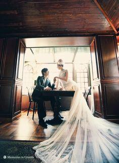 Korea Pre-Wedding Photoshoot - WeddingRitz.com » Memorise by Greeda- Korea wedding photo studio